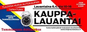Ekenäs Bilcentrals Kauppalauantai i lördag! Välkomna! Tervetuloa!